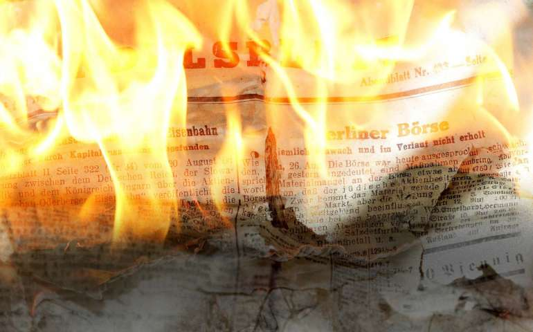 Bonfire of the realities: how to spot fake news